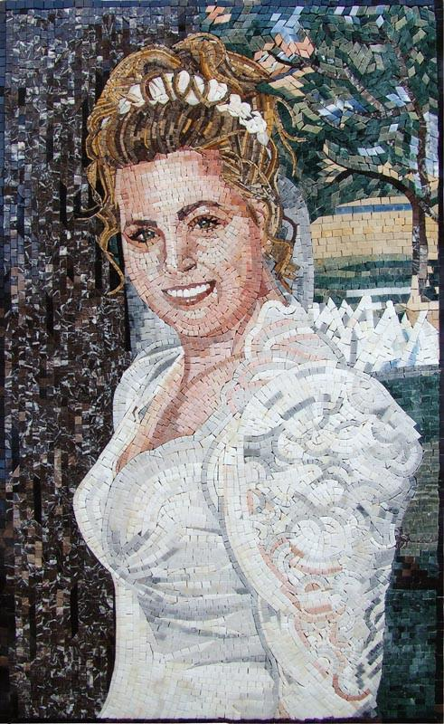 Bride Customized Mosaic