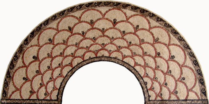 Mosaic Designs - Arc Shape Mosaic