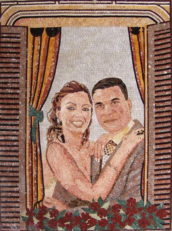 Customized Couple Photo Mosaic