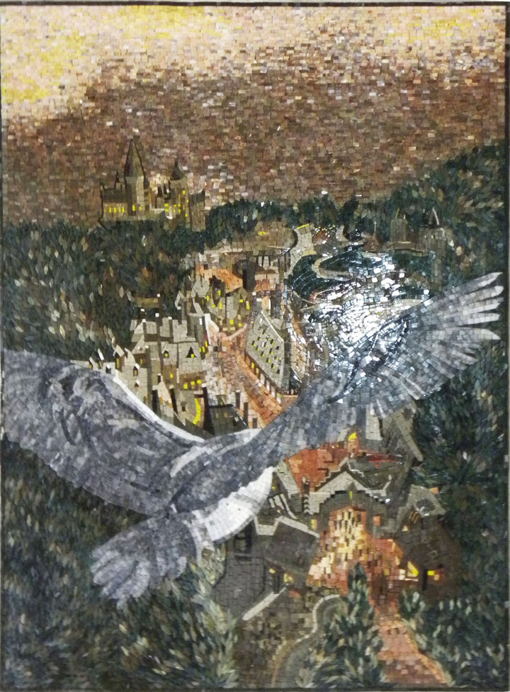 Mosaic Artwork - Harry Potter