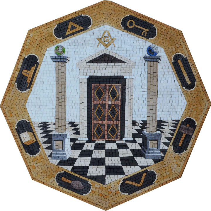 Masonic Lodge - Mosaic Art