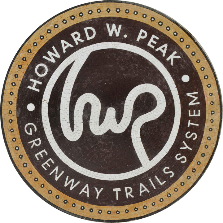 Howard W. Peak - Greenway Trails System Logo