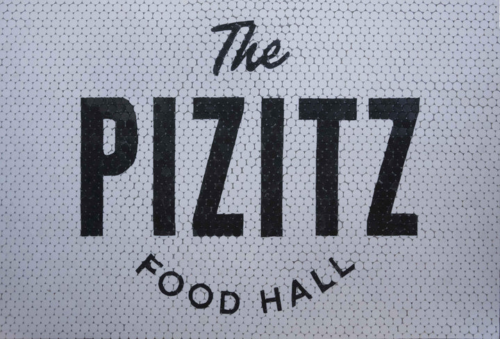 Custom Commercial Mosaic Artwork - The Pizitz Food Hall