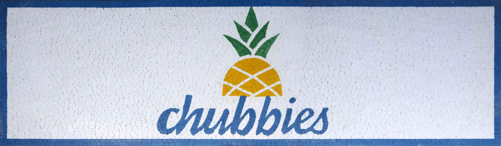 Customized Mosaic Sign - Chubbies