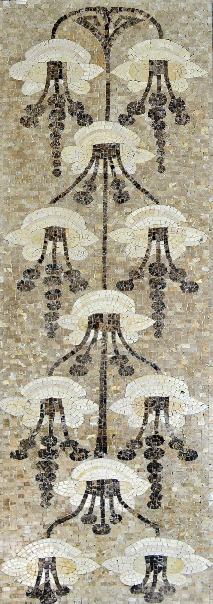 Marble Mosaic Art - Dangling Flowers