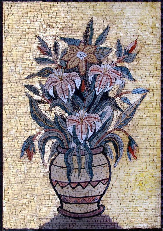 Flower Mosaic Art - The Arrangement