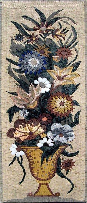 Triumphant Mosaic Flower Arrangement