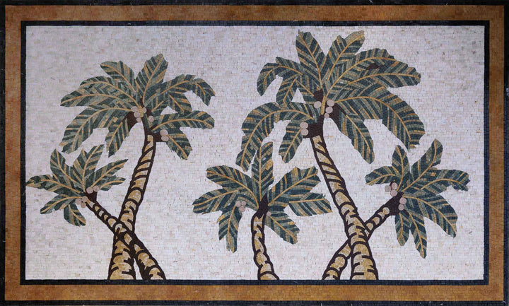 Five Palms Mosaic Art