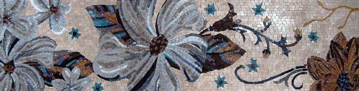 Mosaic Art For Sale- Fiore Serene