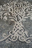 Intertwining Tree - Mosaic Artwork