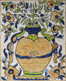 Ancient Pottery Vase - Mosaic Mural