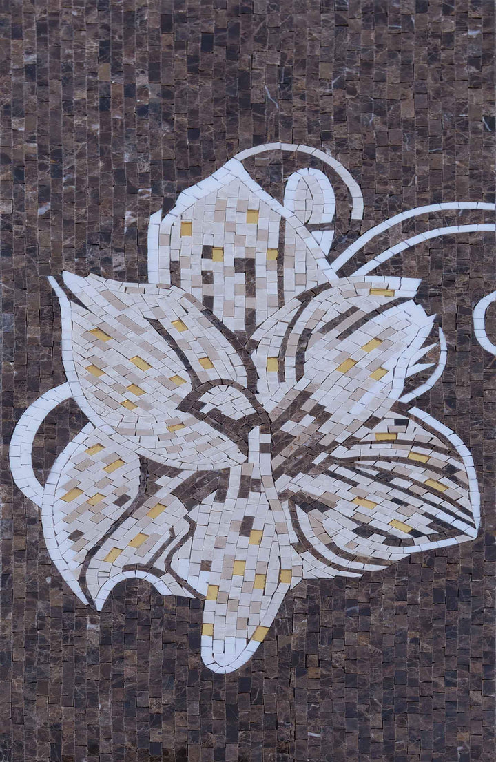 Mosaic Wall Art - Sofia Flower III