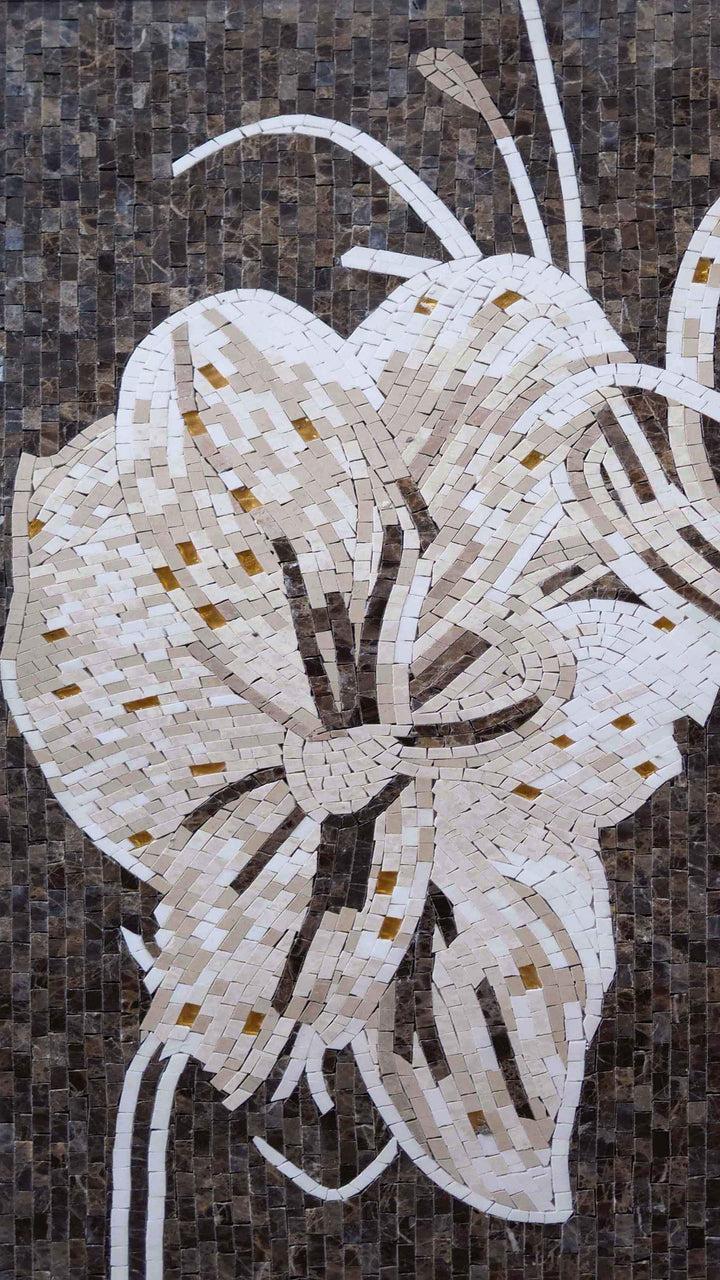 Mosaic Wall Art -Sophia Flower IV