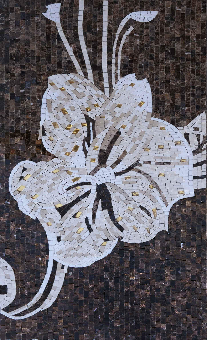 Mosaic Wall Art - Sophia Flower I