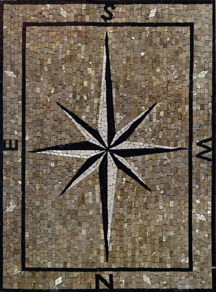 Mosaic Accent - Mocca Wind Rose