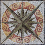 Nautical Mosaic Accent - Dores