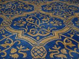 Mosaic Arabesque Pattern - Blue Nights