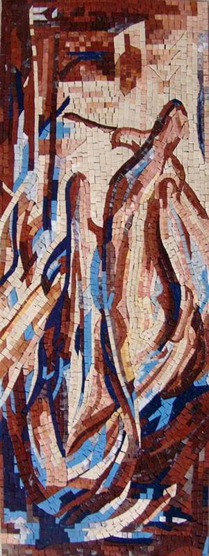 Abstract Mosaic Art - Expressionism