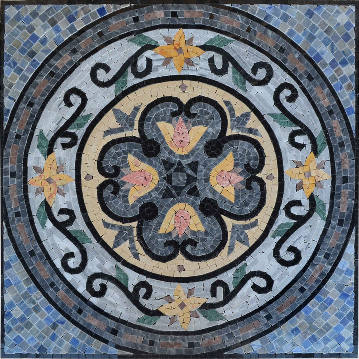 Marble Mosaic Accent - Maroc