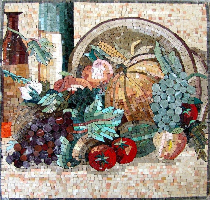Mosaic Designs- Stained Fruits