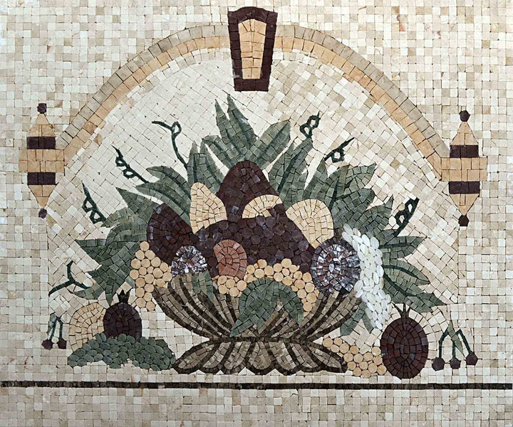 Mosaic Kitchen Backsplash- Afro