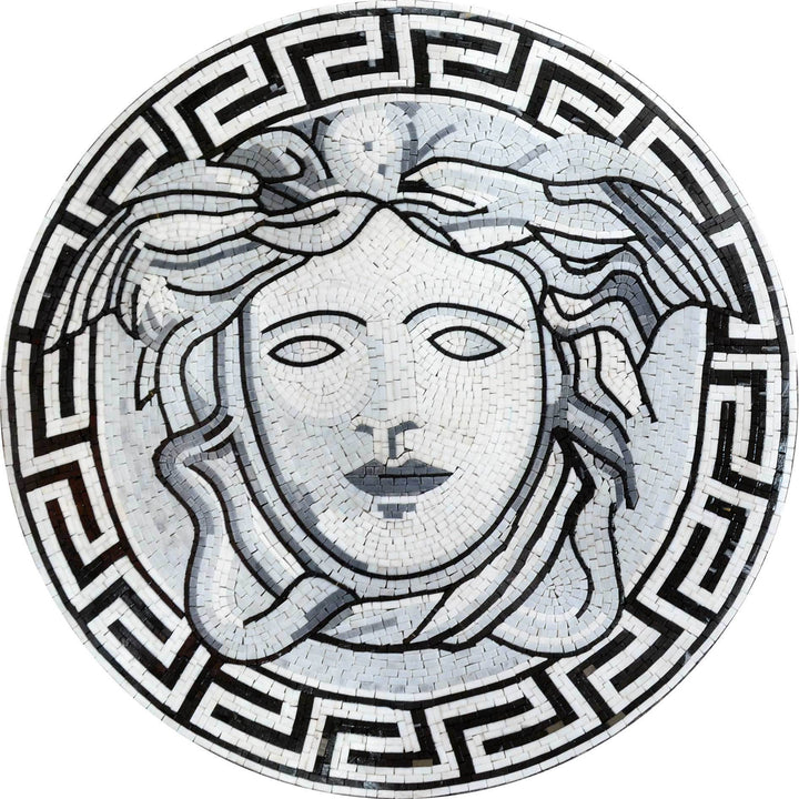 Mosaic Illustrative Medallion Versace