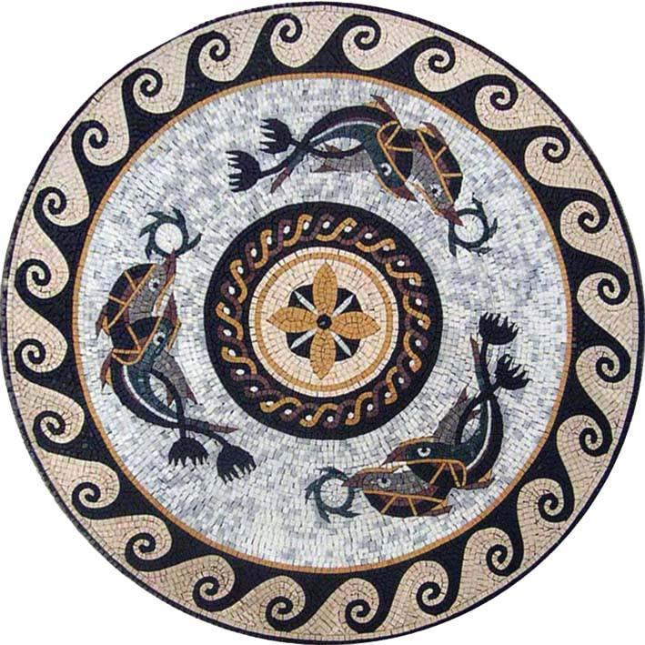 Nautical Medallion Mosaics