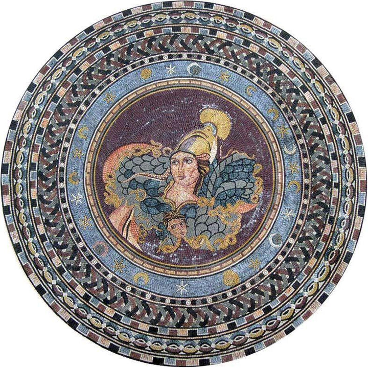 Victory Marble Mosaic Wheel