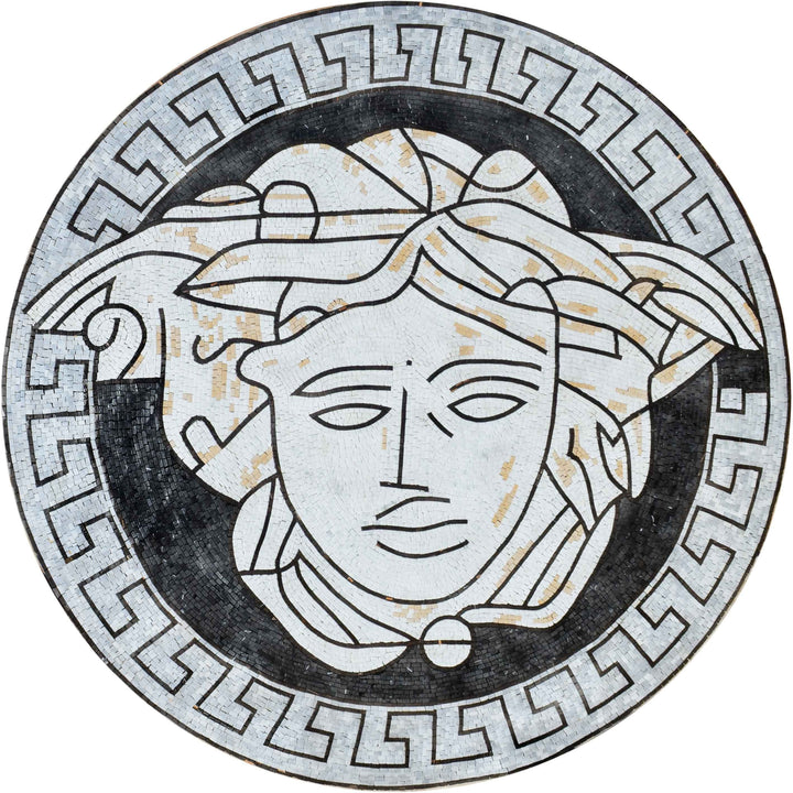 Versace |||  - Marble Mosaic Medallion