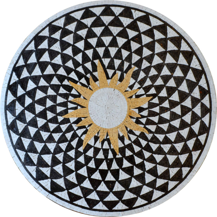 Mosaic Medallion - Pairs of Angles