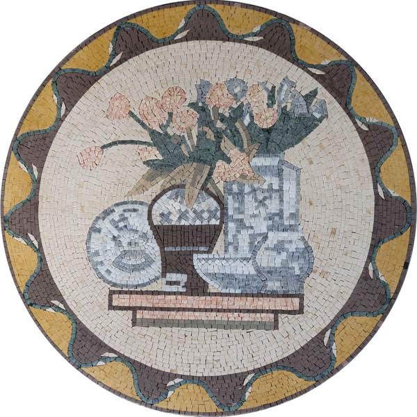 Kitchen Mosaic Tile Medallion - Quai
