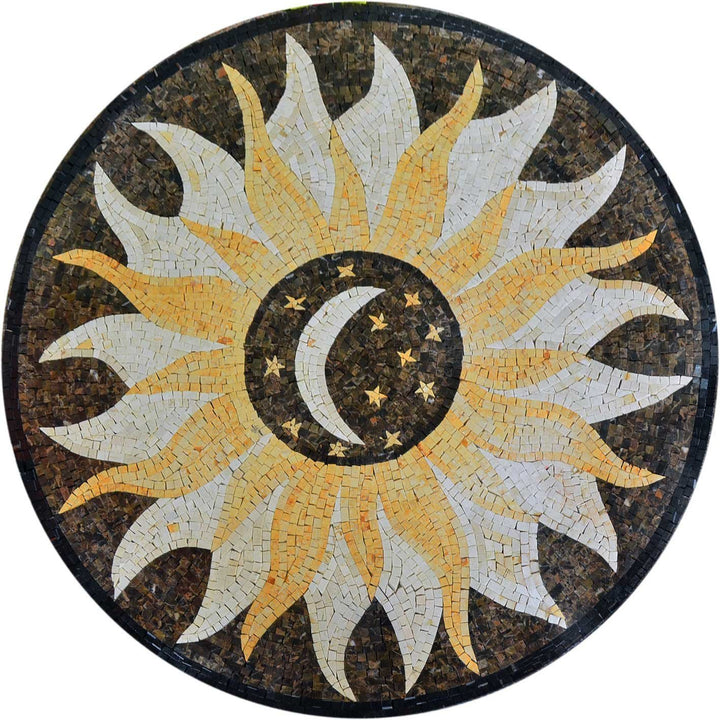 Marble Moon Mosaic - Celia Brown