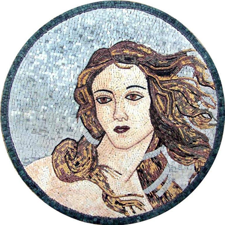 Mosaic Art - The Portrait of Venus