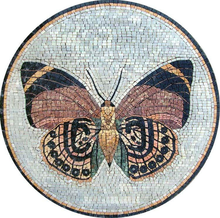 Medallion Mosaic Art - Butterfly