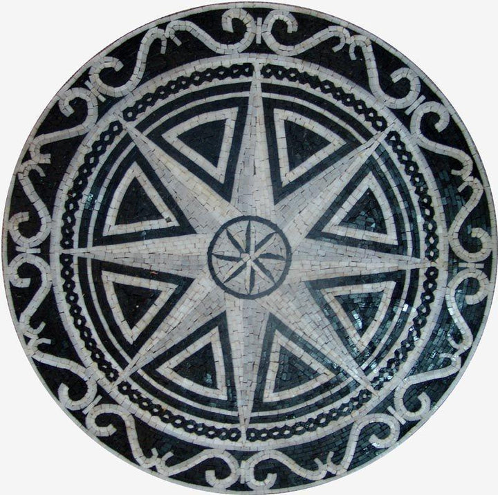 Nautical Stone Medallion - Brizo