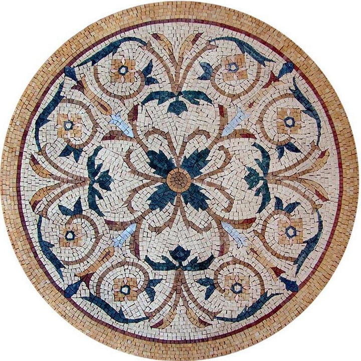 Botanical Medallion - Aeliana Mosaic