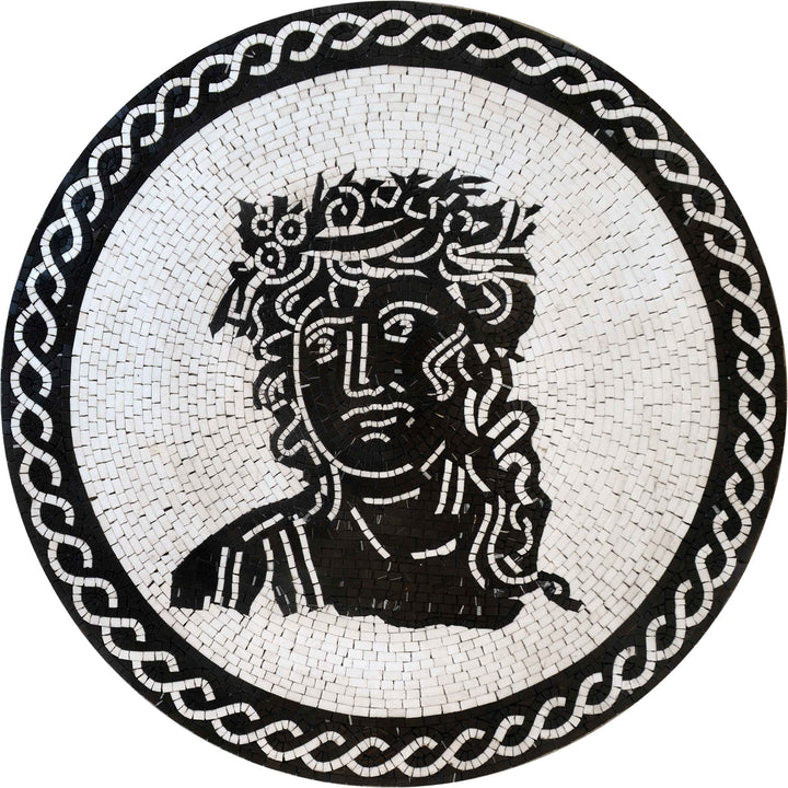 Custom Mosaics - The Portrait of Hera