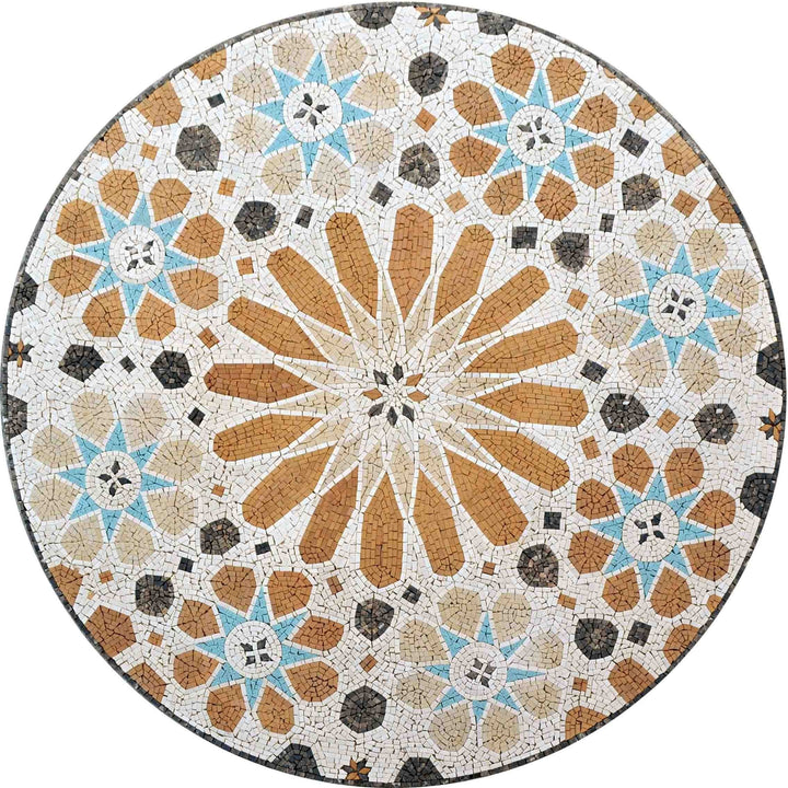 Mosaic Medallion - Moroccan Tiling