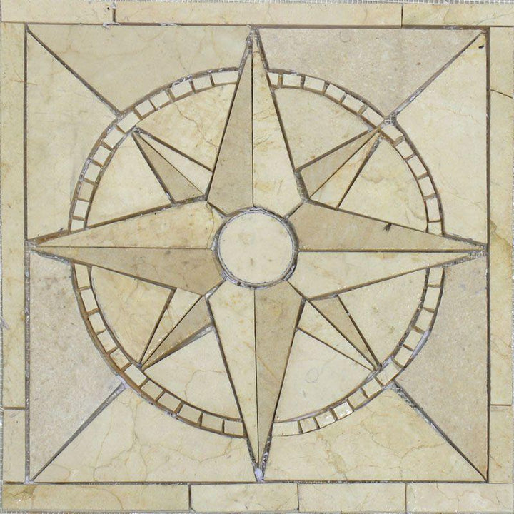 Nautical Theme Mosaic - Delphin