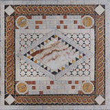 Marble Mosaic Design - Marble Diamond