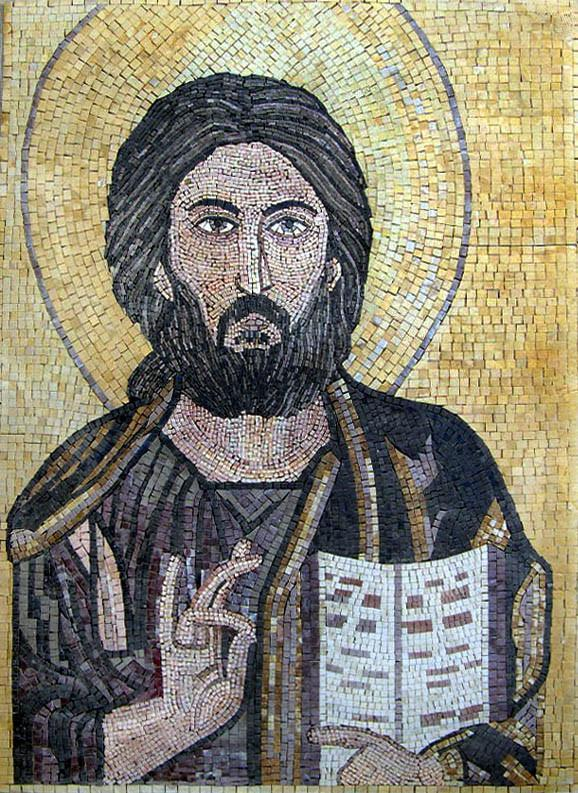 Jesus Icon Mosaic