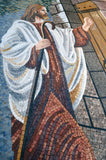 Christian Mosaic Icon - Jesus at the Door