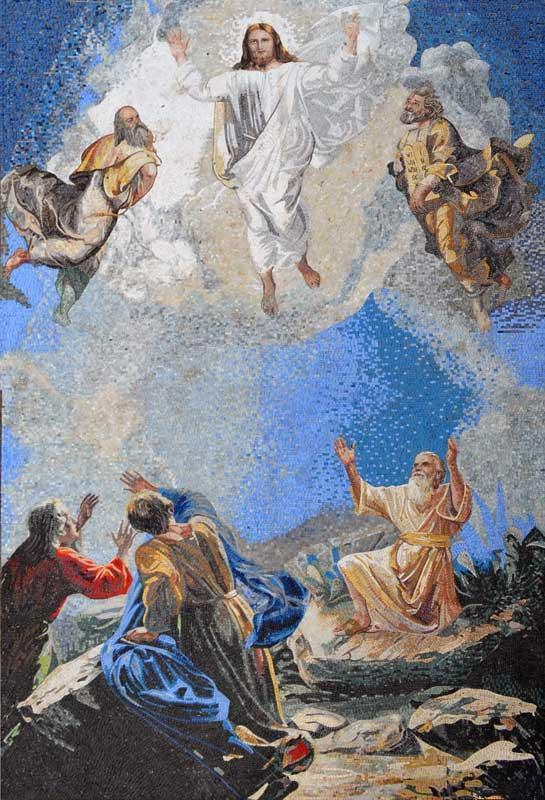 Jesus Christ Transfiguration Mosaic Icon