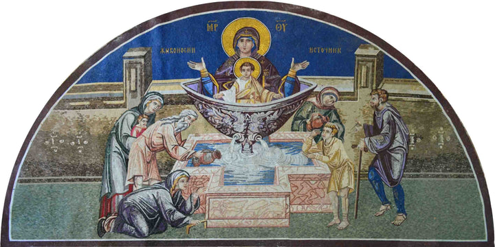 The Healing Fount Religious Mosaic
