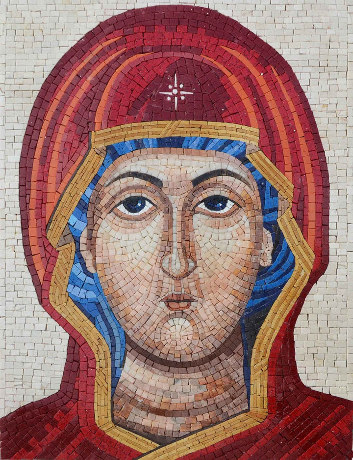 Panagia Mosaic Icon - Virgin Mary