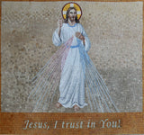 Mosaic Icon - Jesus I Trust In You