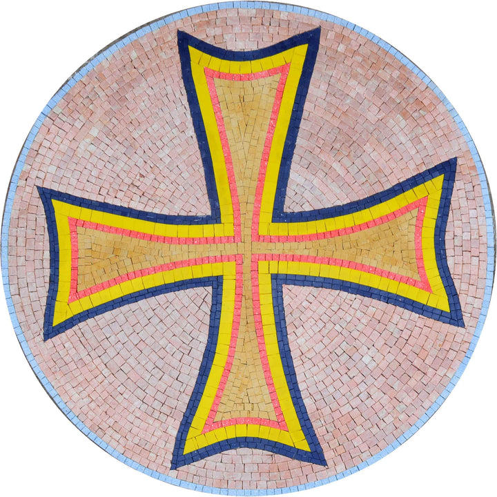 Mosaic Medallion - Cross pattee