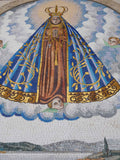 Our Lady of Aparecida - Religious Mosaic Art