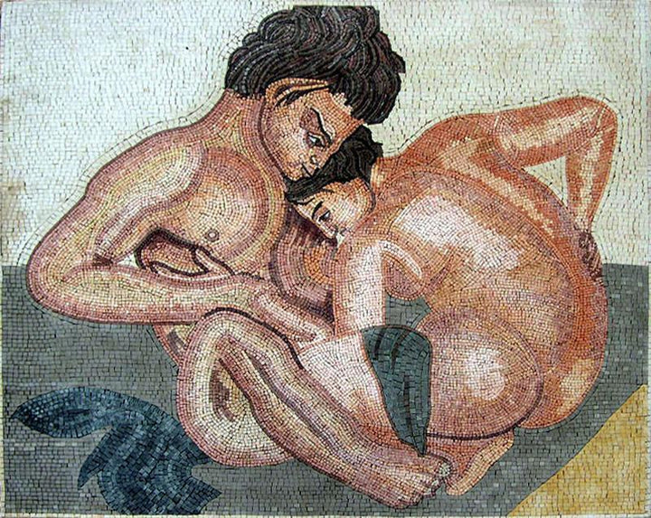Castor and Pollux - Mosaic Ancient Mythology