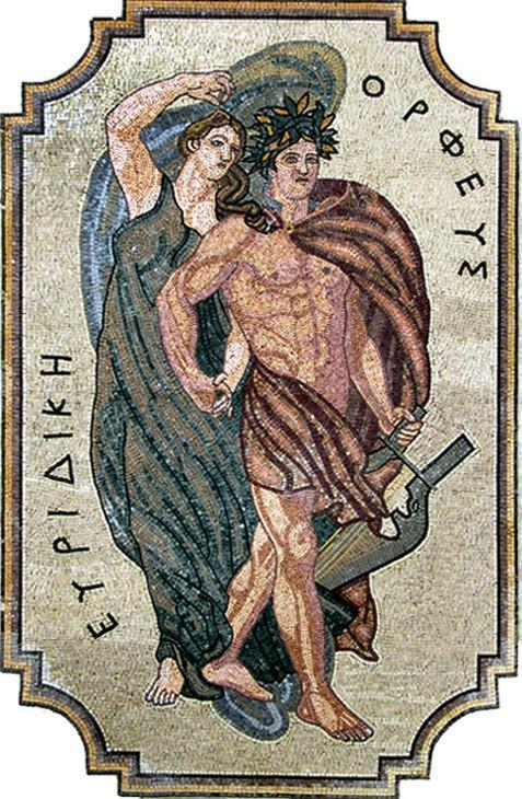 Apollo and Artemis Mosaic - Greek Twin Gods